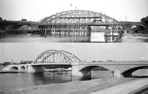 1927 Construction du pont Alsleben